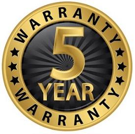 reagan-5-year-warranty